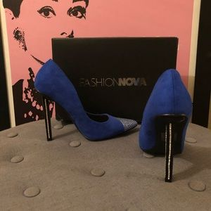 Fashion Nova High Heels with Dust Bag